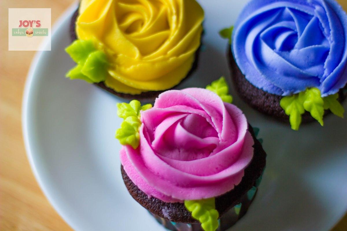 Rosette Cupcakes