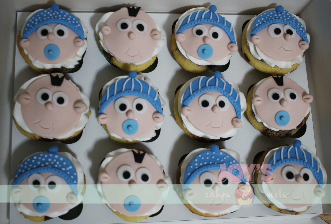 Cute little baby faces for a baby shower